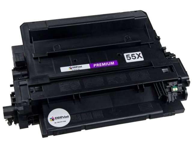 Toner 55X - CE255X do HP LaserJet P3015, P3015d, P3015dn, Enterprise 500, M521,M525, - PREMIUM 12K - Zamiennik