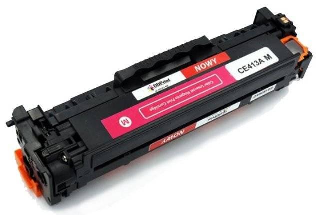 CE413A Magenta / Czerwony toner do HP LaserJet M351 / M375 / M451 / M475 / 2600 stron Nowy Zamiennik