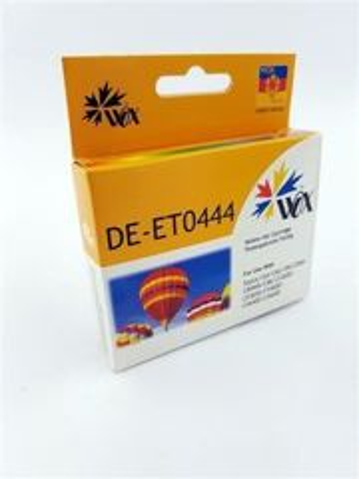 Tusz Yellow do EPSON C64 C66 C84 C86 CX3600 CX3650 CX6400 / T0444 C13T04444010 / Żółty / 19ml /  zamiennik