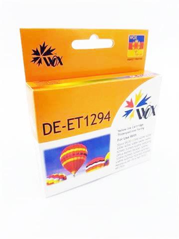 Tusz Yellow do EPSON B42 BX305 BX320 BX535 SX230 SX42 SX435 SX620 WF-7015 WF-7515 / T1294 C13T12944010 / Żółty / 20 ml / zamiennik
